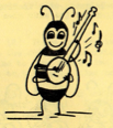 Bee Playing the Banjo