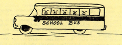 Bee's in School Bus